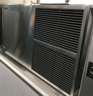 Ice Maker, Cube-Style, air-cooled, self-contained condenser, AHRI certified to 1329 lb/24-hours production, crescent cube style, stainless steel exterior, R-404A refrigerant, 208-230v/60/1-ph, 12.4 amps, NSF, UL