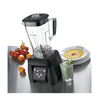 Xtreme High-Power Blender, heavy duty, The Raptor™ 64 oz. BPA Free Copolyester container, electronic membrane keypad, one piece removable jar pad, 120v, 3.5 HP, NSF, cUL & UL, Made in USA