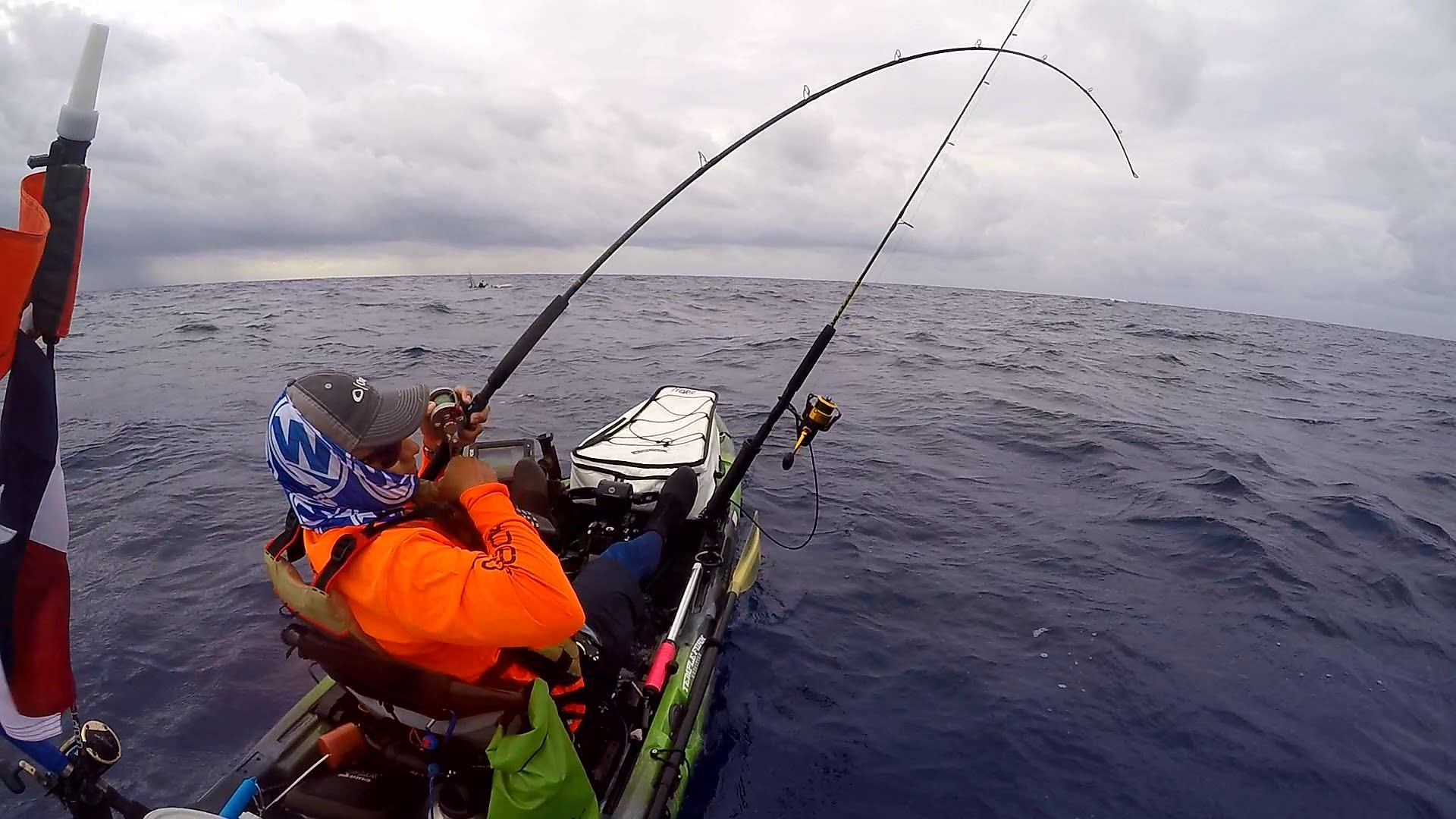 Bahamas to bastrop eugene mora iii yakattack for Kayak bass fishing tournaments