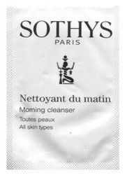 Sothys Morning Cleanser Trial Sample