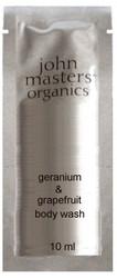 John Masters Organics Geranium & Grapefruit Body Wash Sample