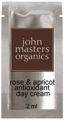 John Masters Organics Rose & Apricot Antioxidant Day Creme Trial Sample