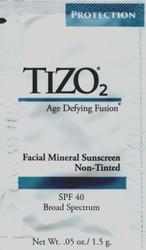 TIZO2 Facial Mineral Sunscreen SPF 40 Non-Tinted Trial Sample