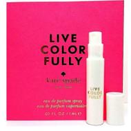 Kate Spade Live Colorfully Perfume Spray Sample Vial 1 ml