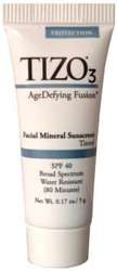 TIZO3 Facial Mineral Sunscreen SPF 40 Tinted Travel Sample