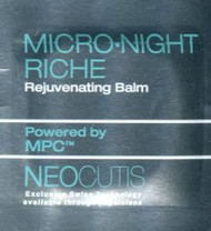 Neocutis Micro-Night Riche Rejuvenating Balm Trial Sample