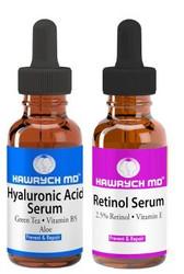 HAWRYCH MD 2.5% Retinol and Hyaluronic Acid Serum Set