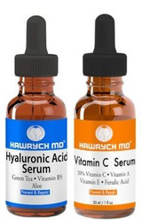 HAWRYCH MD 20% Vitamin C and Hyaluronic Acid Serum Set
