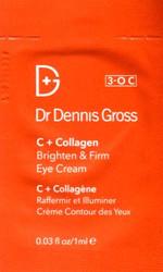 Dr. Dennis Gross C + Collagen Brighten & Firm Eye Cream Trial Sample