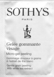 Sothys Micro-Gel Peeling Trial Sample