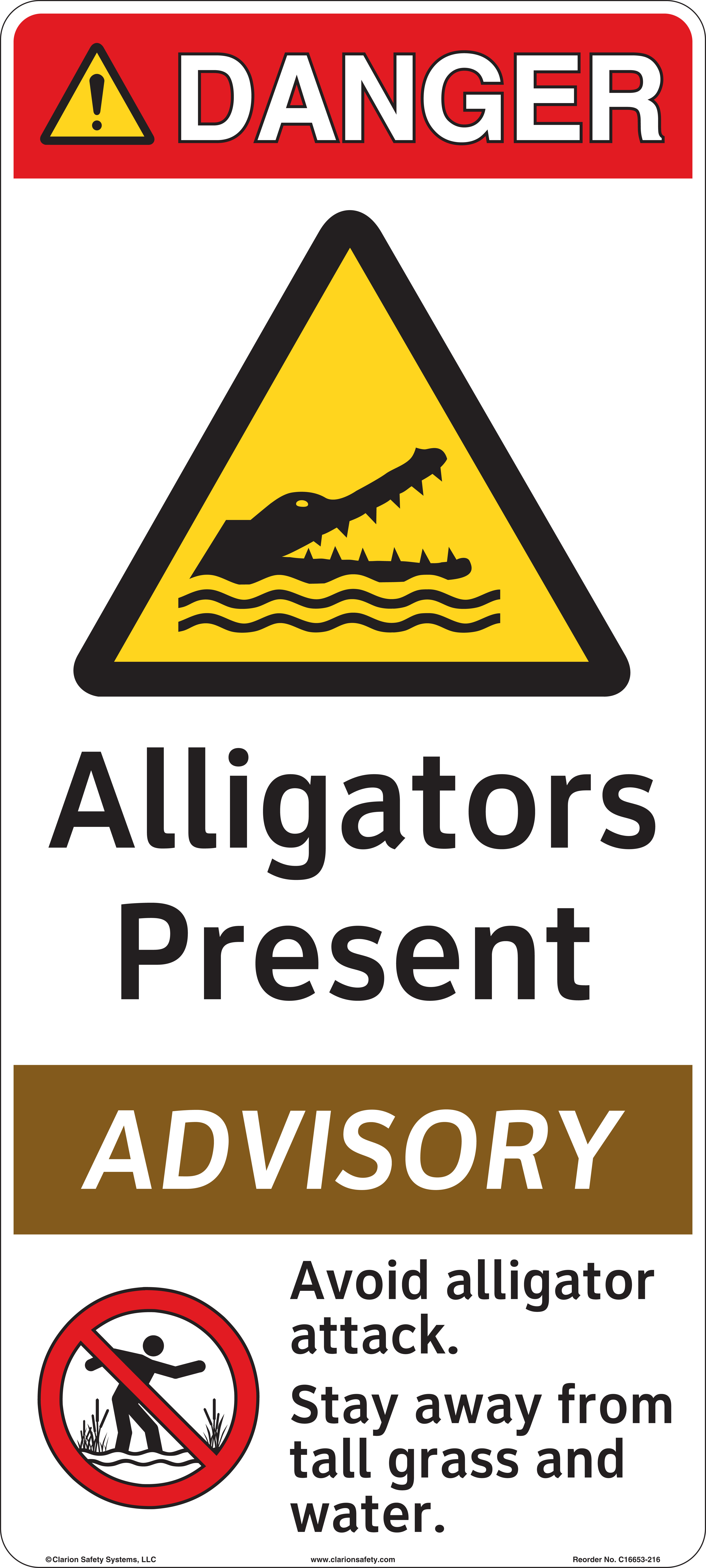 Alligator signs and protecting people in public places clarion alligator signs and protecting people in public places buycottarizona Image collections