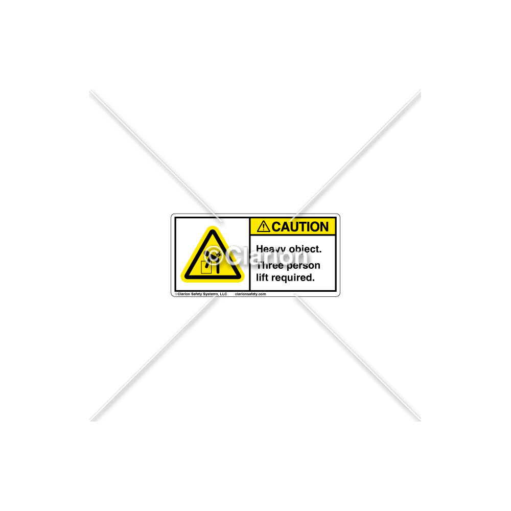 caution heavy object 8195 87chpl clarion safety systems safety