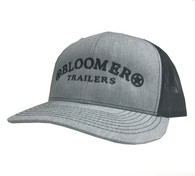 Heather Grey Cap with Black Bloomer Trailers Logo