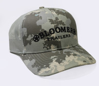 Digital Camouflage Cap with Black Bloomer Trailers Logo