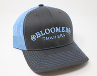 NEW! Charcoal Cap with Light Blue Bloomer Trailers Logo