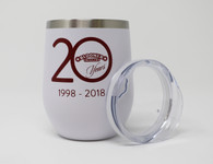 Wine Tumbler 20 oz. 20th Anniversary