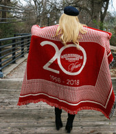Custom Throw Blanket 20th Anniversary