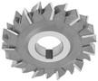 "2-1/8"" X 5/16"" X 3/4"" HSS Arbor Type Keyeat Woodruff Cutter"