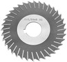 "4"" x 3/16"" x 1"" HSS Metal Slitting Saw with Side Chip"