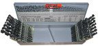 HUT115 #29, #26,& #60 115 pc Combination Drill Index Dispensers