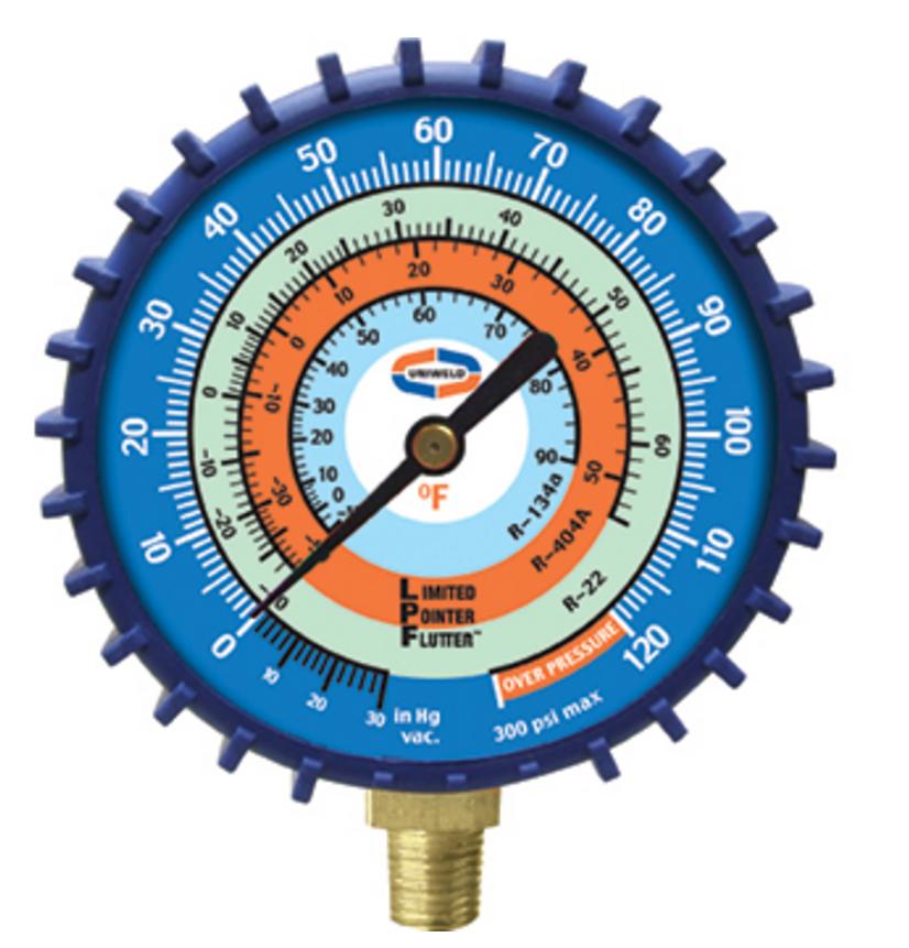 low side manifold gauge