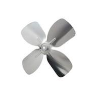 "Packard A61473, 4 And 10 Blade Small Aluminum Fan Blades 1/4"" Bore 5 1/2"" Diameter 4 Blades"