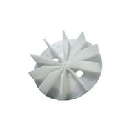 "Packard A65216FB, Plastic Blower Wheels And Fan Blades 3/16"" Bore 4 1/2"" Diameter"
