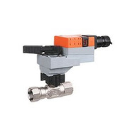 "Belimo B225HT2800+LRB24-3-S, 2-way, HT-CCV, 1"" NPT, 2800CV with Non-Spring Return,45 in-lb ,On/Off/Floating,24V"