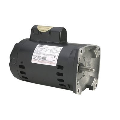 Century Motors B2853 (AO Smith), Centurion Pool And Spa Pump Motor Square Flange 230/115 Volts 3450 RPM 1 HP