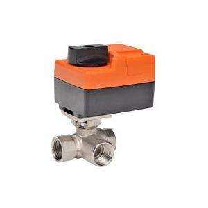 "Belimo B309+TR24-3-T US, 3-way CCV, SS Trim, 1/2"", CV 08 CCV w/ Stainless Steel Ball and Stem"