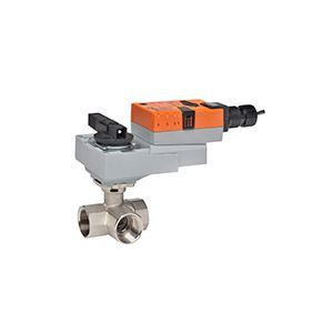"Belimo B331+ARX24-MFT, 3-way CCV, SS Trim, 1-1/4"", CV 25 CCV w/ Stainless Steel Ball and Stem"