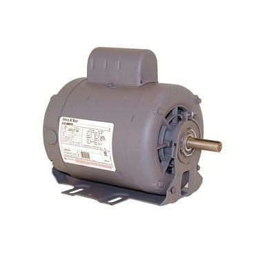 Century Motors B589 (AO Smith), Capacitor Start Resilient Base Motor 208-230/115 Volts 3450 RPM 1 HP