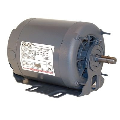 Century Motors BF2056D (AO Smith), Split Phase Resilient Base Motor 115/230 Volts 1140 RPM 1/2 HP