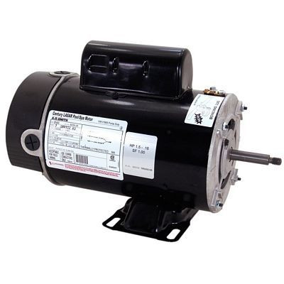 Century Motors BN61 (AO Smith), Pool Motor 3450/1725 RPM 230 Volts