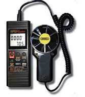 General Tools DCFM8901 Digital Two-Piece Airflow Meter with CFM Display and RS-232 Interface