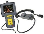 "General Tools DCS1600ART High Performance Articulating, Recording Video Borescope System with Articulating 6mm DIA x 1m Long Probe and 35"" Screen"