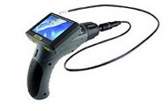 "General Tools DCS355 The Seeker 355 Video Inspection System with 55mm DIA 1m Long Probe, 35"" Screen"