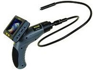 "General Tools DCS400 The Seeker 400 Wireless Data Logging Video Inspection System with 12mm DIA 1m Long Probe, 35"" Screen"