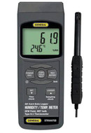 General Tools DTH3007SD Data Logging Thermo-Hygrometer with Excel Formatted SD Card (Replaces DTH3009DL)