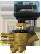 "HCi SPARTAN EA-ME4430S, EvoPICV Controllers - Electric Gear 2-Position ON/OFF Spring Return Zone Valve - Power cube, 1/2""VL-3/4""M"