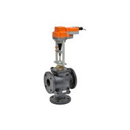 "Belimo G780-250+AVKX24-MFT, 3-way FGV PC, Bronze Trim, 3"" CV 91 with electronic fail-safe, 450 lbf, MFT, 24V"