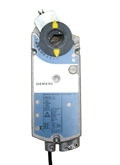 Siemens GBB1661U, OpenAir GBB Series Electric Damper Actuator, rotary, non-spring return, 221 lb-in (25 Nm), 24 Vac/dc, 0 to 10 Vdc control, 125 sec run time, dual auxiliary switches