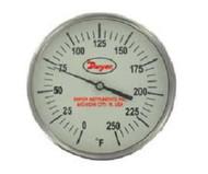 "Dwyer Instruments GBTA54051 5"" THERM 0-250F 4"""