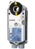 Siemens GEB1611P, OpenAir GEB Series Electric Damper Actuator, rotary, non-spring return, 132 lb-in (15 Nm), 24 Vac/dc, 0 to 10 Vdc control, 125 sec run time, plenum rated