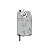 Siemens GQD1211P, OpenAir GQD Series Electric Damper Actuator, rotary, spring return, 20 lb-in (2 Nm), 24 Vac/dc, 2-position control, 30 sec run time, plenum rated