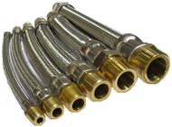 "HCI Flexible Hose Connectors HC-AM _ -18, 1/2"", 18"""