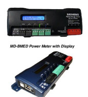 """Siemens MD-BMED-3-CTSC-400, BACnet-Modbus Meter with display, and three 400A, split-core current transformers with 125"""" windows"""