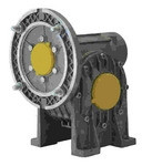 Lafert Motors MI40FP15P14/160-B18, RIGHT ANGLE GBX 15:1 RATIO BORE = 18MM