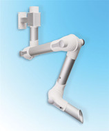 "Movex MEV 1500-75, MEV Series 60"" Wall Mountable Extraction Arm with Bracket"