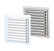 Vents US MVM 125 S, 5x5 Metal Vent Grille with Polymeric Coating